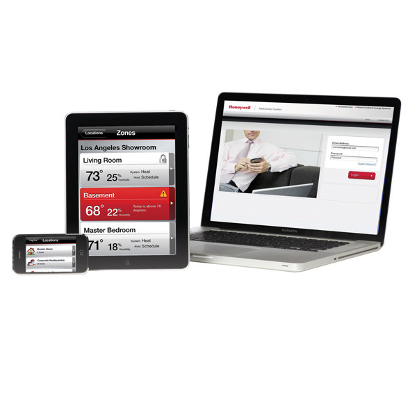Honeywell client portal wifi thermostats