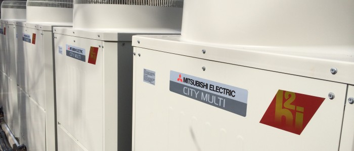 Keyes Completes New Mitsubishi City Multi Cooling And Heating System