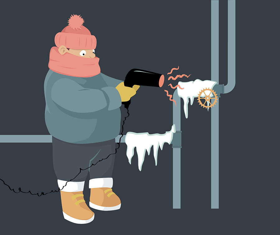 thawing-pipes