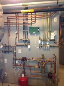 Boiler Piping Manifold