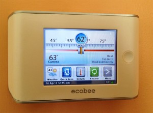 Ecobee remote-access thermostat