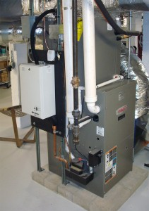 Lennox high efficiency furnace and split cooling