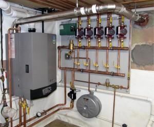 Lochinvar high efficiency boiler