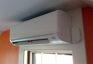 Mitsubishi ductless wall-mounted unit