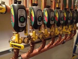 TACO mechanical zone valves