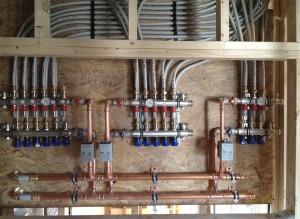 Viega radiator manifolds